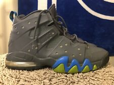 Nike Air Max Barkley CB 34, 488119-010, Dark Grey / Photo Blue, Men's Size 13