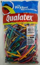 Qualatex Balloons Entertainer Assortment Animal Twist 250 Count Size 260 Balloon