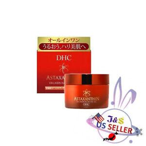 DHC Astaxanthin Collagen All-in-one Gel Moisturizer Face Cream 80g - US Seller