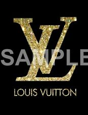 Louis vinyl iron on transfer (any color)