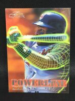 ALBERT BELLE 1996 Flair SP POWER-LINE 1 Of 10 Clevland Indians HOF MINT
