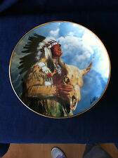 "Franklin Mint ""Hear Me Great Spirit"" US Indian plate"
