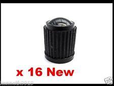 Neumático válvula Polvo Tapas De Plástico Negro Nuevo