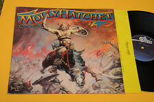 MOLLY HATCHET LP BEATIN THE ODDS 1°ST ORIG HOLLANDE 198O AVEC INTÉRIEUR TESTI