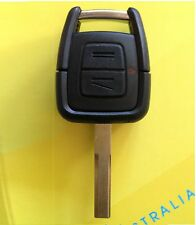 2 Button Remote uncut key case shell suites Holden Astra Barina Combo Zafira