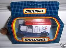 MATCHBOX MB44 1990 DALE FARM MODEL T FORD Van MINT BOXED