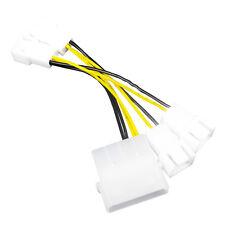AAB Cooling C22 - Lüfter Adapter Kabel Netzteil 4 Pol Molex 12V auf 4 x 3-Pin