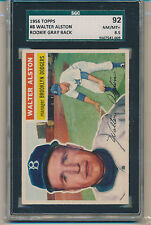 1956 Topps Walter Alston (HOF) (Rookie Card) (#08) SGC92 (8.5) SGC