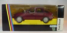 Schabak 1/24 Ford Escort dunkelrot OVP #2943