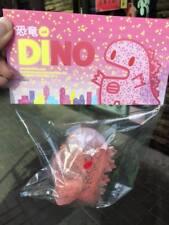 Unbox Ziqi Dino Vinyl Figure GID Glow Show FLAKE Ver Pink