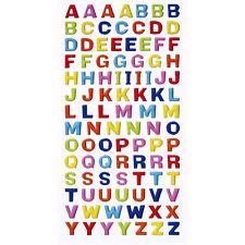 98x CREAPOP*Sticker*Aufkleber*Einschulung*Schule*A-Z*Buchstaben*in 3 d optic