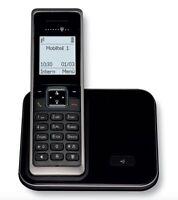 T-SINUS 205 Schnurlos Dect Telefon Schnurloses Gerät mit grossem Display