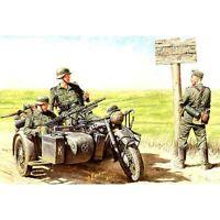 GERMAN MOTORCYCLISTS ON BMW R75 1/35 MASTER BOX 3539 DE