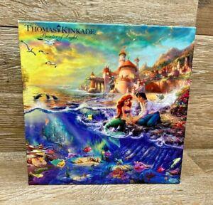 Thomas Kinkade The LITTLE MERMAID ~ Disney Puzzle Ceaco
