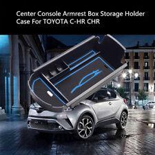 Blue Car Storage Armrest Box Center Holder Console Storage For Toyota CHR 16-17