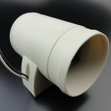Practical White12V 3'' Electric In-Line Bilge Blower For Boats & RVS