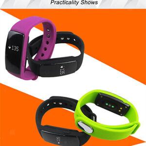 Id107 Smart Watch Fitness Tracker Herzfrequenz-Monitor Sport Armband Grün