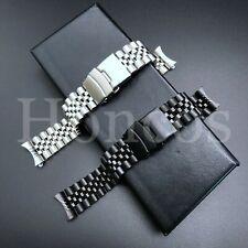 18 - 24 MM Steel Jubilee Watch Band Bracelet Fits For Seiko SKX009 SKX Diver New