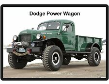 Dodge Power Wagon Refrigerator / Tool Box  Magnet