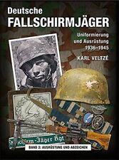 "DEUTSCHE FALLSCHIRMJ�""GER Uniformen Ausrüstung 1936-45 Helme Buch Book Band 2"