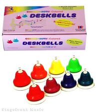 CHROMA NOTES 8 NOTE DIATONIC DESK BELL SET EXPAND YOUR BELL RANGE - CNDBD