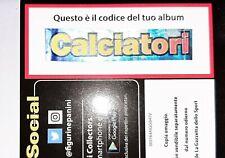 CODICE ALBUM CALCIATORI PANINI 2016-2017 PER RICHIESTA FIGURINE MANCANTI