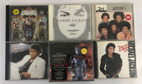 6 Michael Jackson CD's Thriller History Bad Invincible Dangerous Best of 5 +more