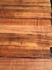 "Ultra Premium Curly Hawaiian Koa Wood 4A Curl 8@15-24""x2-4x1"""