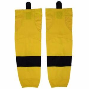 "Firstar Pittsburgh Gamewear Hockey Socks  YELLOW  Sizes 22"", 26"" or 30"""
