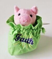 "HERRINGTON TEDDY BEARS PETIT FOURS ""FAITH"" PLUSH STUFFED PINK PIG 4"""