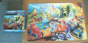 Vintage He-Man 1983 Masters of the Universe 300 Piece Jigsaw Puzzle Complete.