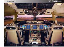 Boeing 767-400ER Flight Deck Boeing Advertisement