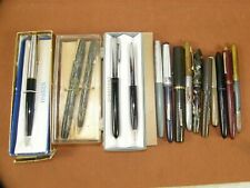 Vintage Fountain Pen Lot Sheaffer Parker Wearever Yours Truly Parts