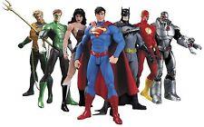 """7Pcs DC Justice League 7"""" Action Figure Toy Superman/Batman/Flash/Wonder Woman"""