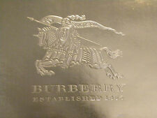 "Authentic Burberry Gift Shopping Bag Gold Large Size 11.75"" x 16.5"" x 4.5"""