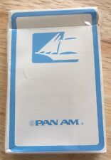Pan Am Vintage Playing Cards Pan American Airlines Clipper Ship Card Deck Sealed