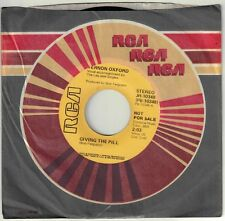 OXFORD, Vernon  (Giving The Pill)  RCA JH-10348 = PROMOTIONAL record