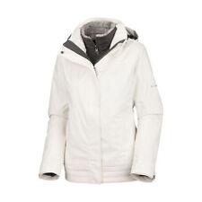 Columbia Women's Sleet To Street 3-in-1 Ski Jacket Coat - White / M
