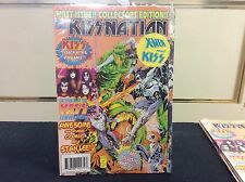 Kiss Nation First Issue Collectors Edition Sealed Kiss Meet X-Men MARVEL COMICS