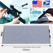 Universal Car Folding Front Rear Windows Sun Shade Windshield Blinds 46*180cm US