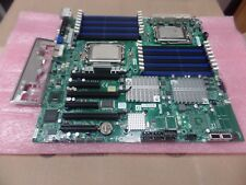Super Micro H8DGi-F, Socket G34, With 2 x Opterons 6172 & I/O shield, EATX SIZE