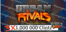 Urban Rivals 3.000.000 Clintz - discount offer