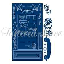 Tattered Lace Cutting Die - Stage Card - ETL383 - New Out