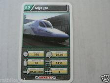 22 SUPER TRAIN E2 TALGO 350 TREIN KWARTET KAART, QUARTETT CARD