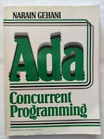 BOOK ADA CONCURRENT PROGRAMMING NARAIN GEHANI PRENTICE-HALL SOFTWARE SERIES