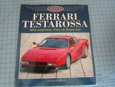 FERRARI Testarossa Soft COVER BOOK Pocher Reference Material