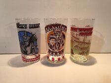 1976, 1977, 1978 Kentucky Derby Glasses