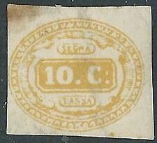 1863 REGNO SEGNATASSE 10 CENT SENZA GOMMA - Y230
