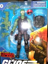 GI JOE CLASSIFIED TARGET EXCLUSIVE BEACH HEAD BLUE EYES VARIANT FIGURE LOT MINT