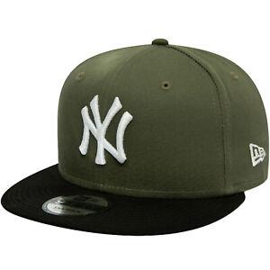 New Era Kinder New York Ny Yankees 9FIFTY MLB Blockfarben Baseball Kappe - Grün
